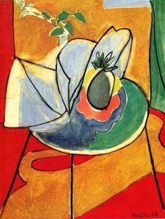 Henri Matisse. The Pineapple (1948).