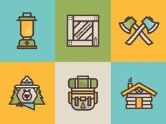 Webwoodsmen Iconos - Designspiration