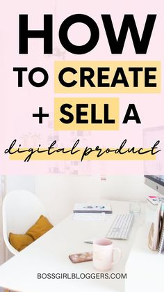 How to create and sell a digital product successfully! How to make money online by creating a digital product to sell. make money online easy Online Income, Earn Money Online, Make Money Blogging, Online Jobs, Money Saving Tips, Things To Sell Online, What To Sell Online, Money Tips, Make Money From Pinterest