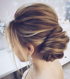 Tres Chic | The updated French twist wedding updo for modern romantics - inverted French twist