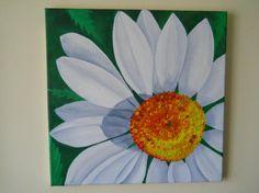 Oil Painting Daisy