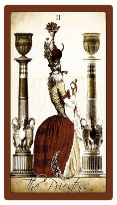 My Vintage Valentine version of the Isidore Tarot. Major Arcana Cards, Artist Signatures, Doll Maker, Vintage Valentines, Tarot Decks, Mythology, Mystic, Painting, Painting Art