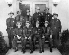 Federal Ranger force, Boulder Canyon Reservation, Boulder Canyon Project. Nov 9,1934. #TBT #throwbackthursday