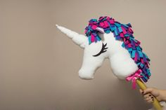 DIY: unicorn hobbyhorse