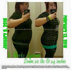 """✔Check out this girl's before and after!  Brittney's ItWorks System results are too amazing not to share!!! OMG!! Down 10lbs and 14 inches?!?! That's simply amazing!!! That was a few weeks ago!!!! WOW..... ✔OUR SYSTEM IS SO SIMPLE. WRAP. REMOVE. REBOOT. BOOM. How many of you are hitting your goals?  Do you have questions about any of our natural products?  Have you thought about using the """"system?""""  ⏳March is in a couple days....Spring Break is a couple weeks away! YIKES!"""