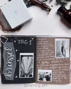 How to Journal with Thermal Printer ❤️❤️❤️ Love this It is memorable & vintage! A creactive way to record the memory with friends. Especially like that white words written on transparent plastic, actually feel a bit like lace! Bullet Journal Books, Bullet Journal Ideas Pages, Bullet Journal Inspiration, Journal Pages, Journals, Bullet Journal Aesthetic, Diy Tumblr, Photo Album Scrapbooking, Scrapbook Photos