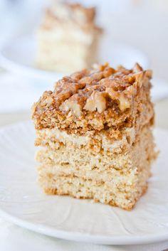 Honey cake.