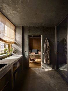 Well, not just any penthouse, it's Robert de Niro's penthouse atop Greenwich Hotel, designed by Axel Vervoordt. In one word? Amazing. Another word? Heaven. I love the use of reclaimed wood, Belgian l