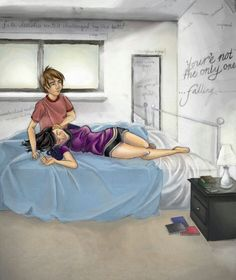 Ethan and Lena - beautiful creatures fan art