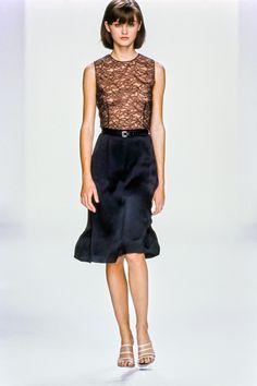 Calvin Klein Collection Spring 1995 Ready-to-Wear Fashion Show - Trish Goff