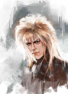 Bowie, Jareth by David Bowie Labyrinth, Labyrinth 1986, Labyrinth Movie, David Bowie Art, Patrick Seymour, Goblin King, Jennifer Connelly, Hayao Miyazaki, Dark Crystal Movie
