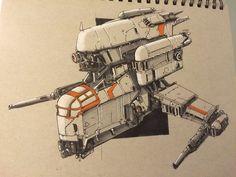 Military Spaceship