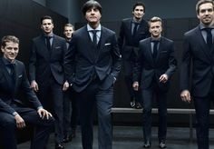 The official outfitter of Germany's national soccer team, Hugo Boss celebrates their 2014 World Cup win with a photo release.