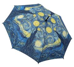 Umbrella after Van Gogh's work 'Starry Night'
