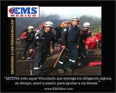 """Hola! Recordemos """"No hay nada más Grande que el Corazón de un Voluntario"""" Bonita Guardia! Ánimo!☺ #SoyEMS"""