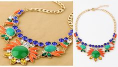 J.Crew Inspired Tribal Statement Necklace