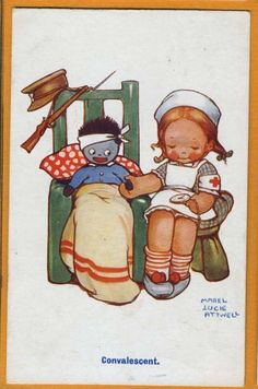 MABEL LUCIE ATTWELL Miss Polly had a Dolly who was sick sick sick so she took it to the doctor