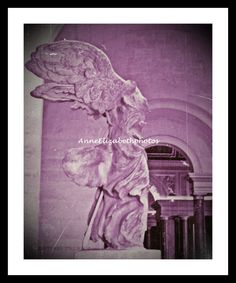 Paris  Winged Victory of Samothrace Pink