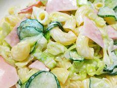 キャベツのハムマカロニサラダの画像
