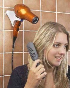 Hair Dryers - Hair Dryers ideas Hands Free Hair Dryer Holder Compact For Home And Travel! - Hands Free Hair Dryer Holder Compact For Home And Travel! Dryer Stand, Dental Hygiene School, Hair Dryer Holder, Adaptive Equipment, Dental Office Design, Aging In Place, Elderly Care, Home Health, Tips Belleza