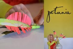 DIY Painted Feather Arrows | Petunia Pickle Bottom Blog