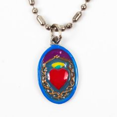 Sacred Heart Of Jesus Necklace now featured on Fab.