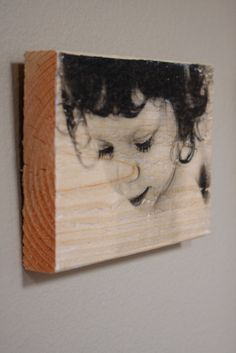 Customizable Wooden Photo Prints on Block by tolitop on Etsy