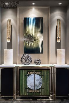 Oriental inspiration sideboard |www.bocadolobo.com #modernsideboard #sideboardideas