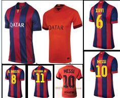 5692543ec Find More Sports Jerseys Information about 2014 15 spain club hot team  messi neymar jr iniesta