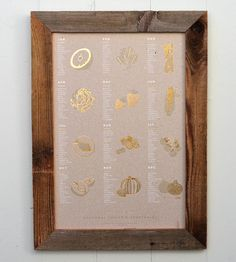 Made with natural recycled chipboard.