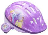 Disney Princess Girls Princess Child Microshell Helmet  (Purple) - #kidsstuff #kids #toys #games #toysandgames #boys #girls -   Here's the best way to keep your little princess safe while riding her bicycle or rollerblading. This bicycle safety kit f