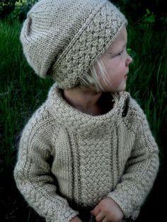 (6) Name: 'Knitting : Little Miss Ella's Sweater