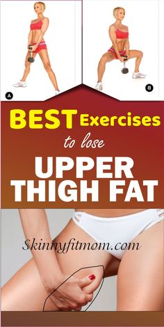 Try these 10 ultimate upper thigh workouts and watch the fat burned off fast. Th. Try these 10 ultimate upper thigh workouts and watch the fat burned off fast. These exercises target your upper thigh , tone up your legs and gives you a skinny leg. Fitness Workouts, Fitness Motivation, Butt Workout, Fitness Diet, Health Fitness, Inner Leg Workouts, Inner Thight Workout, Toned Legs Workout, Upper Thigh Workouts