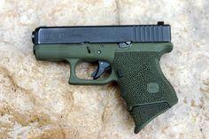 Seeking the best concealed carry handgun? Glock Stippling, Best Concealed Carry, Conceal Carry, Tactical Equipment, Edc Tactical, Indoor Shooting Range, Best Handguns, Firearms, Shotguns