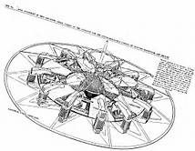 Working flying saucer design created with the help of Tesla. Ancient Aliens, Aliens And Ufos, Tesla Technology, Science And Technology, Nikola Tesla Inventions, Nicolas Tesla, Tesla S, Tesla Power, 3d Cnc