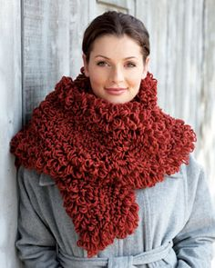 Softee Chunky Loopy Scarf - How yummy does this look?!