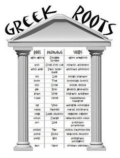 Worksheets Greek Roots Worksheet greek and latin roots worksheets quizzes weeks 1 through 5 a card game to help students practice their when know they