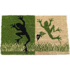 Entryways Dancing Frogs Hand Woven Coir Doormat, 18 by 30-Inch null,http://www.amazon.com/dp/B007XK9O34/ref=cm_sw_r_pi_dp_yJ5etb1EZAZ1TYA8