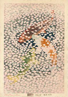 Kasamatsu Shiro 笠松紫浪 (1898-1991), Japan / woodblock print: