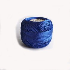 Blue electric polyester thread Tatting, Alphabet, Electric, Trending Outfits, Unique Jewelry, Handmade Gifts, Leather, Blue, Etsy