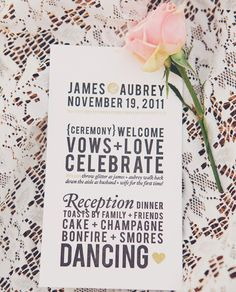 Invitation ideas..A Bleubird Vintage Wedding | Real Weddings and Parties | 100 Layer Cake