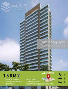 AP0528 PROMENADE ALDEOTA Empreendimento alto padrão à venda, localizado na Aldeota, em Fortaleza, próximo a serviços e conveniências. Apartamento com 158,00m2, 4 suítes....  (85)3224 1700 (85)999912788- whatsapp contato@escalaimoveis.com.br