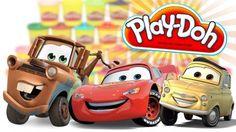 Play Doh Surprise Eggs CARS with Mr Turtle Old McDonalds Space Advanture.