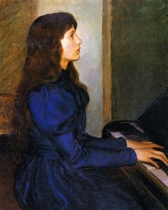 Playing by Heart, Lilla Cabot Perry, 1897