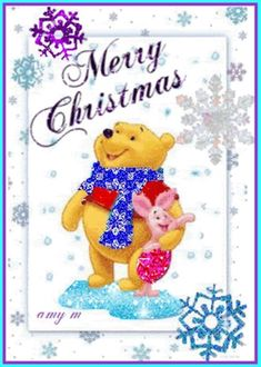 59 Winnie the Pooh Quotes Awesome Christopher Robin Quotes 15 Winnie The Pooh Christmas, Cute Winnie The Pooh, Winnie The Pooh Nursery, Disney Christmas, Disney Holidays, Christmas Baby, Christmas Time, Christmas Cards, Winne The Pooh Quotes