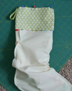 Stocking with cuff tutorial