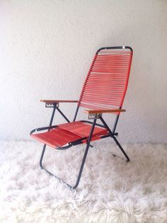 scobidou foldable chair with iron frame (France 50)