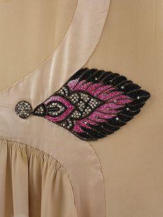 Embellished Detail on a Dress (Paul Poiret, 1929)