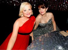Amy Poehler and Tina Fey together and gorgeous!
