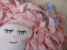 Lucy's Lovely Ladies: rag dolls handmade in Tasmania by Lucy Patmore of South Arm.